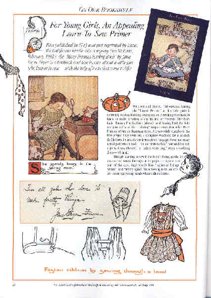 The Mary Frances Sewing Book